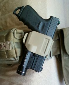 Glock in Crye holster
