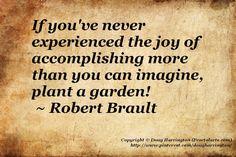 ~ Gardening quote ~