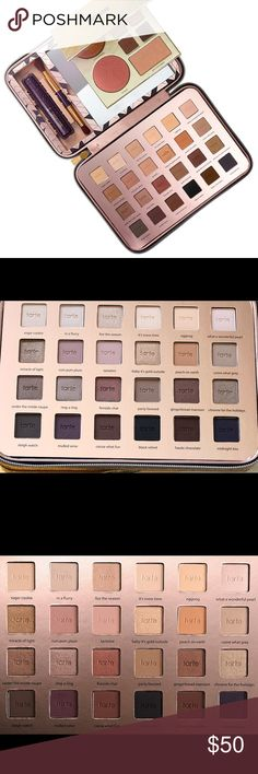 Tarte light of the party limited edition eyeshadow Limited edition, sold out everywhere, tarte holiday eyeshadow palette. Please note this is eyeshadow only and never used. Come is super nice sequin case. Amazing variety of eyeshadow, matte and shimmer, 24 shades total!  If it is listed it is available ⭐️No trades Authentic  ☀️No Modeling MAJOR BUNDLE DISCOUNTS tarte Makeup Eyeshadow