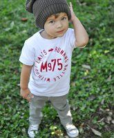 little Chucks and beanie! @Rachel Dougherty - can't you picture little Alex like this?