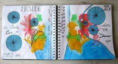 Inside is where the jewels are {sketchbook art from Tara Leaver}