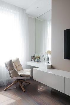 Hotel Room Design, Bedroom Bed Design, Home Office Design, Home Interior Design, Bedroom Decor, House Design, Apartment Interior, Apartment Design, Room Interior