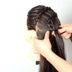 #braidstyle #braiding #braider #dutchbraids #hairvideos #hairtutorials #hairguru #hairgoals #hairinsta #hairinstagram #lovehairstyle #longhairstyles #peinado #promhairstyle #trecce #tresse #trenzas #hair_artistry #allmodernhair #purplehair Braid Hair, Braids, Hair Videos, Braid Styles, Purple Hair, Prom Hair, Hair Goals, Braided Hairstyles, Long Hair Styles