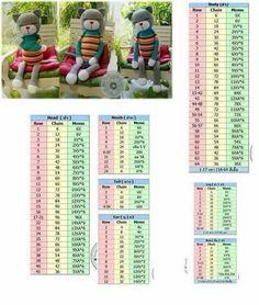 Crochet Doll Pattern, Crochet Chart, Crochet Patterns Amigurumi, Amigurumi Doll, Crochet Dolls, Crochet Teddy, Crochet Baby, Knitted Animals, Doily Patterns