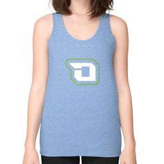 Di3seL Logo Mark Shirt Unisex Fine Jersey Tank (on woman) Shirt