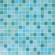 Oceanscape Glass Mosaic Tile Blend from the Kaleidoscope Colorscapes Collection