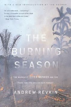 """The Burning Season: The Murder of Chico Mendes and the Fight for the Amazon Rain Forest"" by Andrew Revkin, won the 1991 Robert F Kennedy Book Award for its frank depiction of Mendes' life and death. It shared the 1991 Award with ""The Long Haul"" by Myles Horton. http://rfkcenter.org/1991-qthe-long-haulq-by-myles-horton-and-herbert-and-judith-kohl-and-qthe-burning-seasonq-by-andrew-revkin?lang=en"
