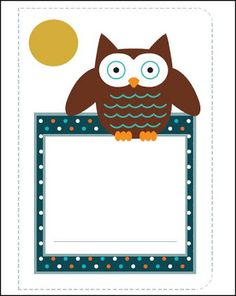 Classroom Freebies: Flying Friends Journal Covers
