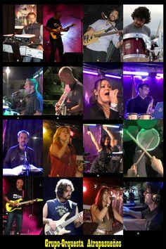 Cartel Orquesta Atrapasueños 2011