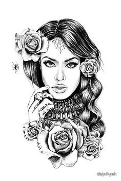 Follow me on pinterest: @ BaLLinISMyH0BBy Aaliyah Fan Art by Dejaliyah