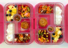 05032014 - apple, blueberries, carrot, cucumber, beetroot, corn, sweet potato muffin, split wheat beetroot salad, yoghurt, walnuts