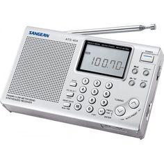 Radio portabil Sangean ATS-404 - pachet promo cu incarcator si antena