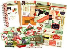 BASIC GREY 25TH AND PINE CHRISTMAS KIT.  $11.99 regularly $26 at www.peachycheap.com!