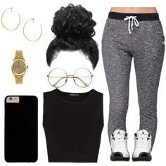 """Would y'all wear the sets I make? (comment)"" by myra-moore on Polyvore"