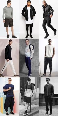 5 Men's Key Look for 2015 Spring/Summer: 4. Sports Luxe Outfit Lookbook Inspiration
