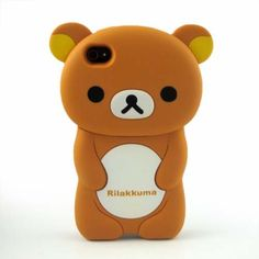 Rilakkuma 3d iPhone case.  Buy now for only $22.99!   I would buy this... when I get an iphone lol. but look for a cheaper price! :)