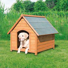 Log Cabin Dog House                                                                                                                                                                                 Más