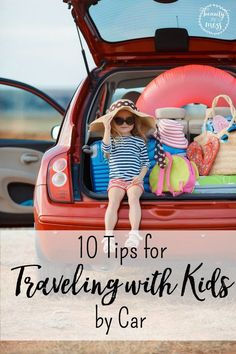 Do you start sweating and get anxious with just the thought of traveling with littles?   With vacations, day trips, and long weekends in your near future, you need a plan. Check out these tips on how to survive traveling with kids in the car.
