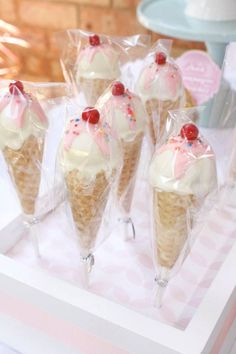 Vintage Ice Cream Parlor Themed Birthday Party via Kara's Party Ideas KarasPartyIdeas.com Cake, decor, printables, favors, tutorials, and more! #icecreamparty #vintageicecreamparlor #icecreamparlor #icecreampartyideas #partyplanning (23)
