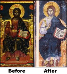 """MACCABEES 3:48 """"And laid open the book of the law, wherein the heathen had sought to paint the likeness of their images.""""  A.K.A. 'THE RENAISSANCE' = REWRITTEN AND LIED ABOUT HISTORY BY WHITES/EDOM"""