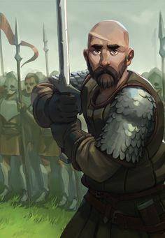 ArtStation - Warrior, Nikolai Mamashev