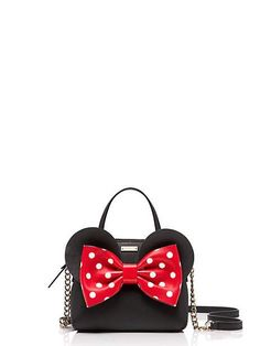 kate spade new york for minnie mouse mini maise, black