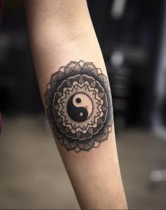 A totally zen tattoo