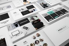 Pitch Deck Powerpoint Template by Incools Stokie on @creativemarket