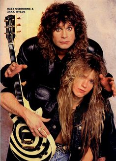 Ozzy Osbourne and Zakk Wylde.