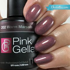 Pink Gellar - Warm Marsala $12.95 (buy 3 get 1 free)
