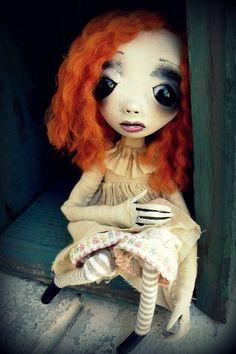 Loopy Goth Art Doll Molly