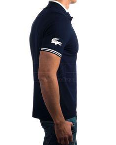 Polos Lacoste azul marino ·  Polos Lacoste 94% algodón y 6% elastano Polos Lacoste con logo