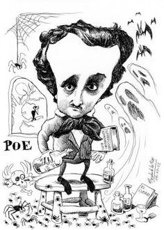 Edgar Allan Poe by Pablo Morales de los Rios