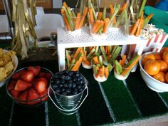 Sports Birthday Party Food table