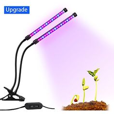 Lovebay Dual Head LED Grow Light 18 W 36LEDs 2 Dimmable Levels Grow Lamp Bulbs with a 360 Degree Gooseneck for Office Home Indoor Garden Greenhouse [Upgraded Version] Review https://ledgrowlightplant.info/lovebay-dual-head-led-grow-light-18-w-36leds-2-dimmable-levels-grow-lamp-bulbs-with-a-360-degree-gooseneck-for-office-home-indoor-garden-greenhouse-upgraded-version-review/
