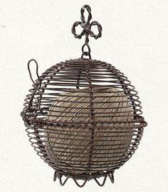 Cage Twine Holder