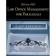McGraw-Hill's Law Office Management for Paralegals is an applied, practical text written specifically for paralegal courses that cover day-to-day law office management topics. The text begins with an overview of the legal industry and the various players involved.
