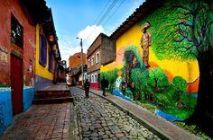 la-candelaria-Bogotá-colombia