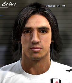Bryan Ruiz face for Pro Evolution Soccer 2012