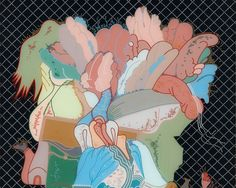 Barbara Rossi: Poor Traits - New Museum of Contemporary Art Contemporary Art Daily, Museum Of Contemporary Art, Contemporary Paintings, Chicago Imagists, New Museum, Art Auction, Art World, Game Art, New Art