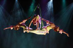 Erilaisia sirkusliiton materiaaleja
