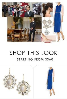 """""""Opening an Exhibition About Prince Bertil at Strömsholm Palace with Carl-Philip"""" by louiseingrid-ofdenmark ❤ liked on Polyvore featuring By Malene Birger and Christian Louboutin"""
