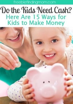 15 Kids Ways to Make Money - If your kids are constantly complaining about being bored or constantly asking you to open your wallet to purchase movie tickets, toys, electronics, etc. why not motivate them to start earning their own money? It will instill a good work ethic and teach them how to budget and save money. Here are 15 kids ways to make money to help get them started.