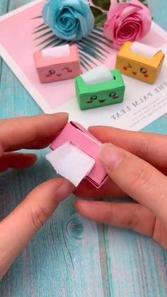 Diy Crafts For Girls, Diy Crafts To Do, Diy Crafts Hacks, Cute Crafts, Creative Crafts, Easy Crafts, Diys, Instruções Origami, Paper Crafts Origami