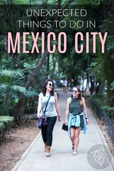 There is more to Mexico City than tacos and tequila!  Check out these four unexpected things to do in Mexico's vibrant capital.