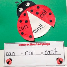 Blooming into Spring- Contractions, Balanced Equations, and Craftivities!