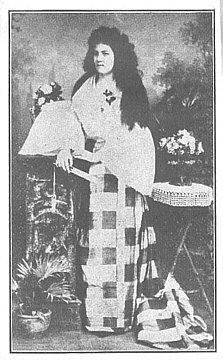 Dr. Jose Rizal's wife Josephine Bracken