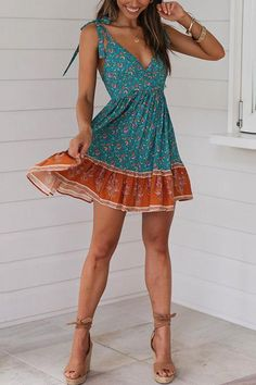 Cozy Dress Outfits To Wear This Summer. Here i will show you Fresh idea of cozy dress outfits to wear this summer Cute Dresses, Casual Dresses, Cute Outfits, Mini Dresses, Dress Outfits, Elegant Dresses, Mini Dress Formal, Day Dresses, Floral Evening Dresses