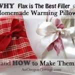 DIY How (And Why) To Make The Best Flax Seed Pillows  (great  for sore necks, foot warmers, hand warmers etc.) (Use flax instead of rice... instructions and explanation why flax is better!)  Did you know: Flax provides a gentle, moist heat which promotes healing. The weight of flax is gentle and comforting.  Check out the page to find many more reasons why flax is better then rice for these projects!