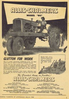 Glorious Deutz Tractor Advertisement Removed From A 1957 Farming Magazine Other Media